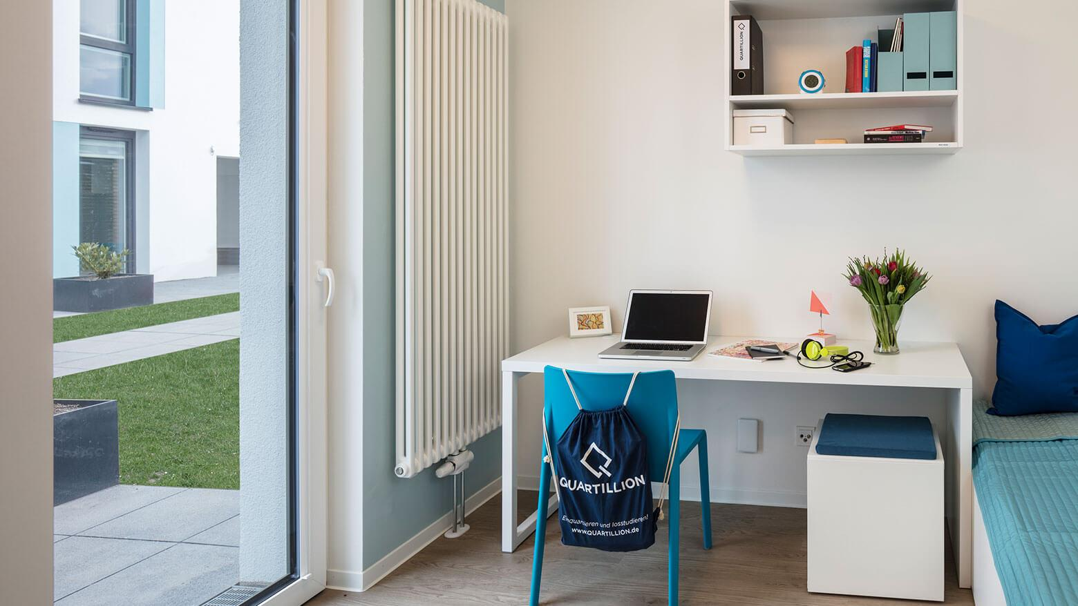 Modern furnished student apartment in Quartillion Cologne